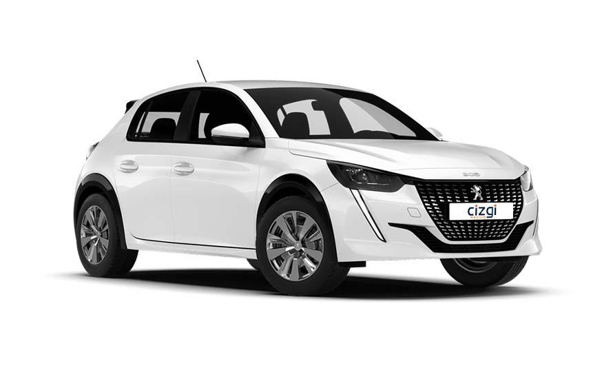Peugeot 208 Benzine Handgeschakeld