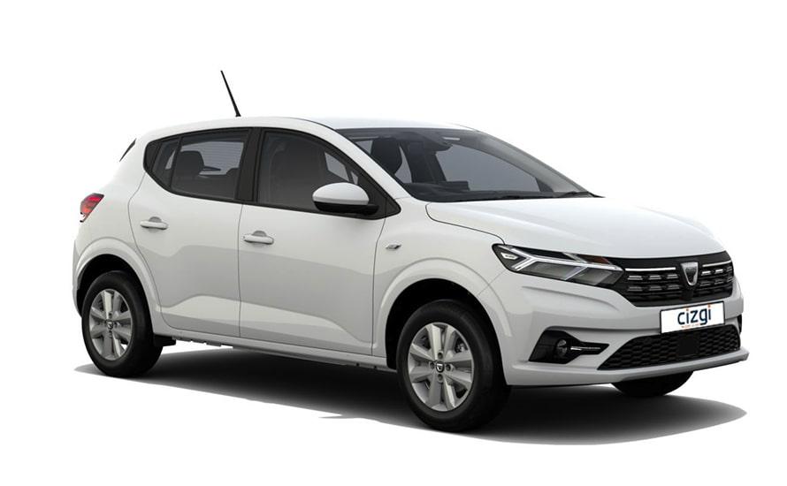 Dacia Sandero Benzine Handgeschakeld