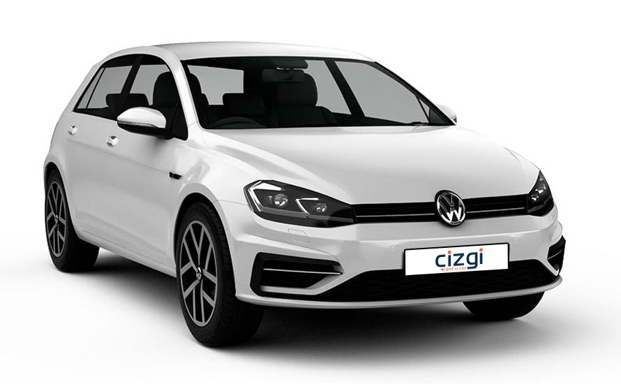 Volkswagen Golf Midline ترس ديزل يدوي