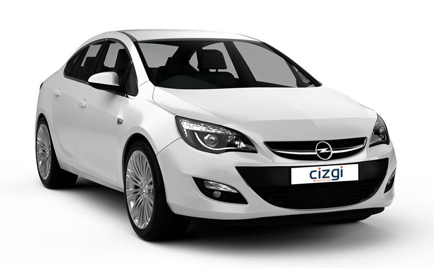 Opel Astra Дизель Автоматическая седан