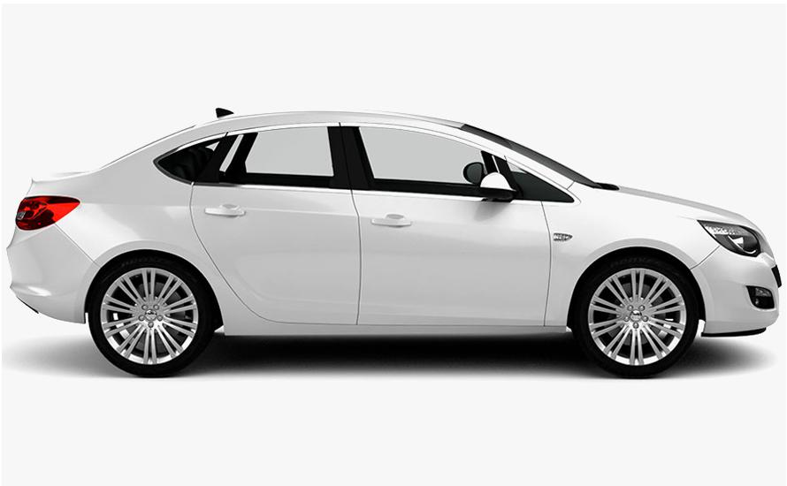 Opel Astra ترس ديزل أوتوماتيكي سيارة سيدان