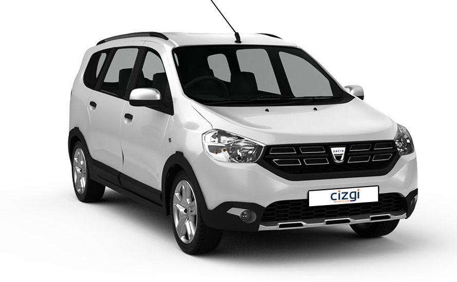 Dacia Lodgy Dizel Manuel 5 Kişilik