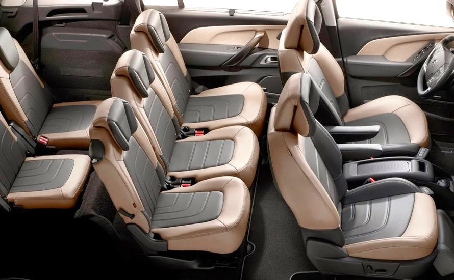 Citroen C4 Grand Picasso Дизель Автоматическая 7 автокресло
