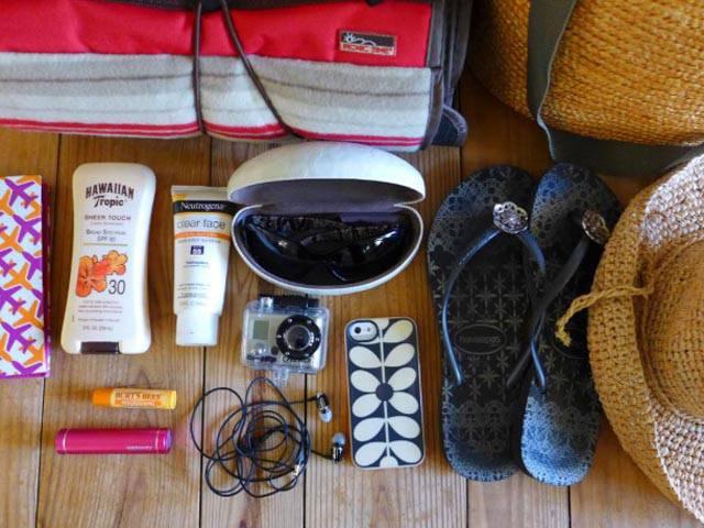 Aanbevelingen voor kwaliteitsreizen, voorbereiding van koffers