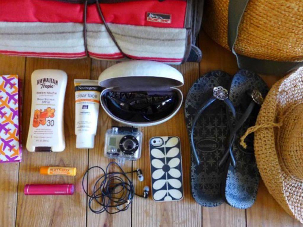 Empfehlungen für hochwertige Reisen, Koffer vorbereiten