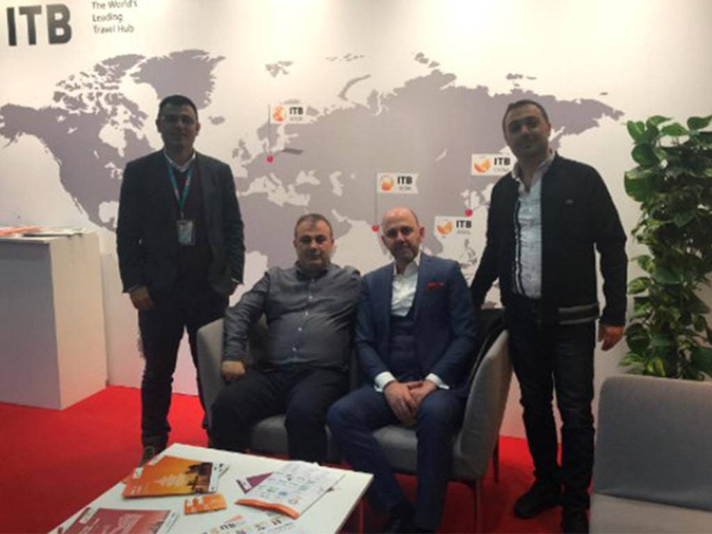 Cizgi Autovermietungen nam deel aan ITB BERLIN Tourism Fair