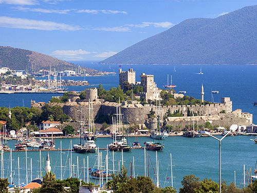The Amazing Place Where The Mediterranean And Aegan United : Bodrum